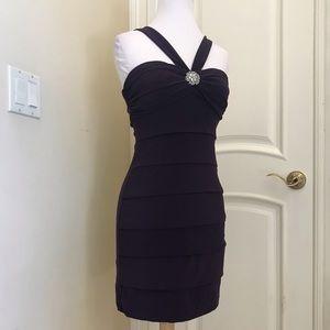 B Darlin knit party dress